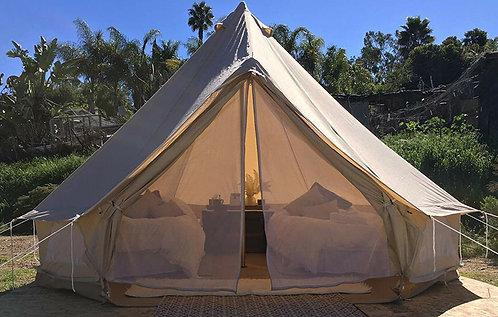 Tenda da campeggio indiana 4 metri beige