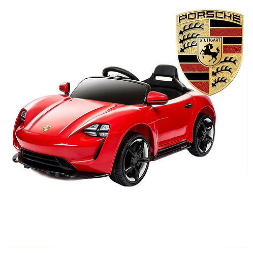 Macchina Elettrica per Bambini 12V Porsche Rossa