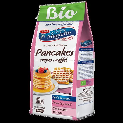 Organic  Pancakes crepes e waffel