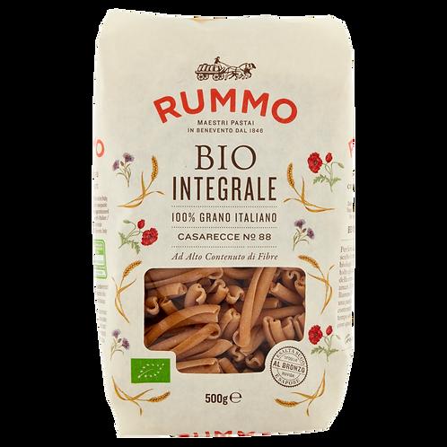 Caserecce organic whole wheat pasta - Pastificio Rummo