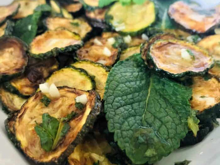 Neapolitan Zucchine a Scapece – Fried Courgettes