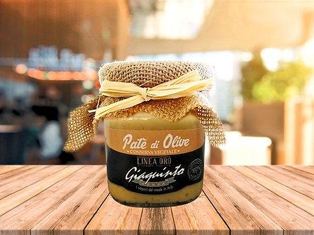 Green olives patè