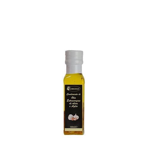 Evo  oil flavoured with garlic – bottle format