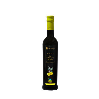 Evo  oil flavoured with Sorrento lemons – bottle format