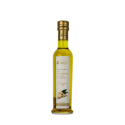 Evo oil flavoured with ginger – bottle format