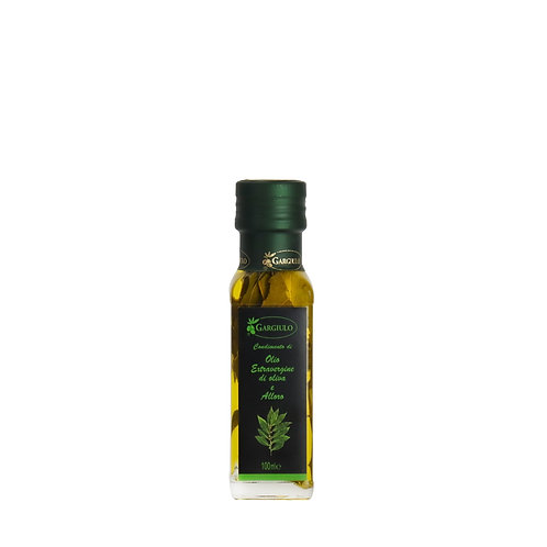Evo oil flavoured with laurel – bottle format