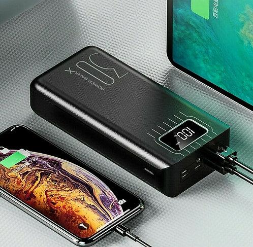 Power bank 30000 mah con display led