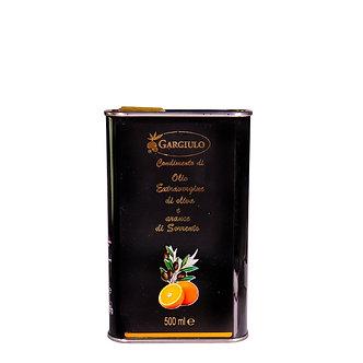 Evo oil flavoured with Sorrento oranges- tin format