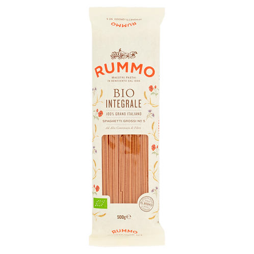 Spaghetti organic whole wheat pasta - Pastificio Rummo