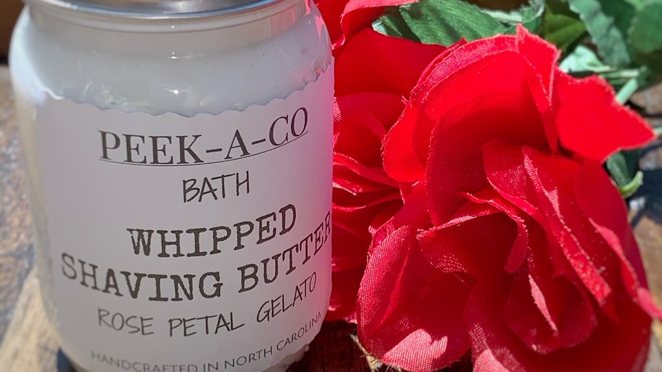 Rose Petal Gelato Shaving Butter