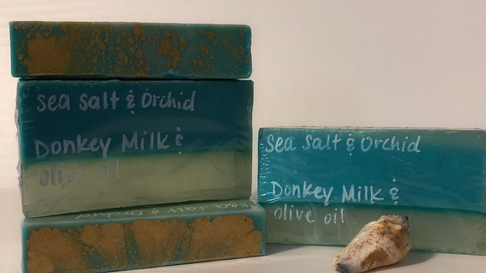 Sea Salt Orchid Soap