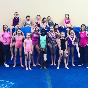 Competitive Gym - Pink Day
