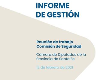 Informe de gestión (febrero 2021)