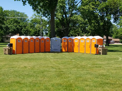 Portable Toilets for fairs and Festivals
