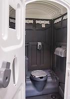 Portable Toilet hand flush