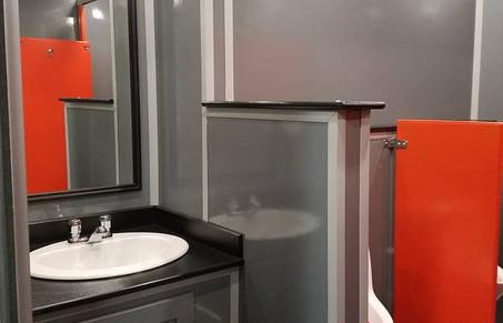 Luxury Restroom trailer rental Cesspool Cleaner Company