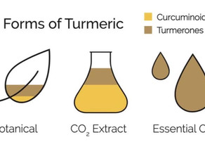 3 Forms of Turmeric