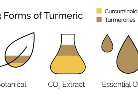 3 Forms of Tumeric