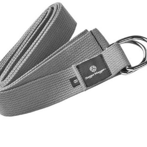 Cotton D-Ring 10ft Strap-Gray