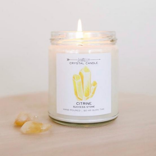 JaxKelly Citrine Candle-Success