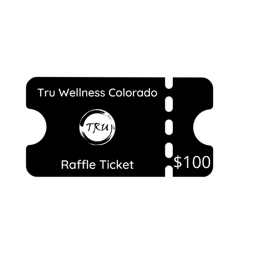 3 Pack Private Acupuncture $100 Raffle Ticket
