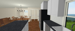 Forest new pantry w double doors - view
