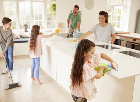 6 Spring Cleaning Tips: WHAT?! Spring? Yes It Will Be Here March 20th.