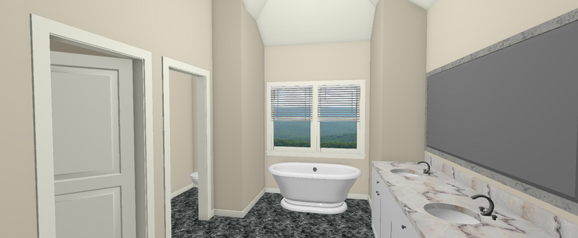 Brian and Shana 3d view floor plan 2