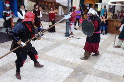Big trouble in town between the Christians and the Moors during the Festival of Two Kingdoms