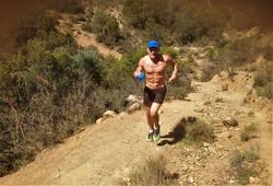 Gary hits the trails outside Riofrio