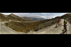 Highest point of an 87km training ride from Lake Bermejales
