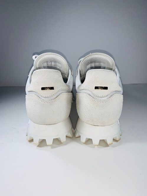 156c2bfd3b16 Size Style  7  Louis Vuitton White Runner Sneaker Retail Price   1020 Plus  tax. RCR Price   750. Condition  Great W Box