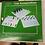 Thumbnail: Schach/Dame/Backgammon, Glas, 62 Figuren, 4 Würfel, 1 Wahlwürfel