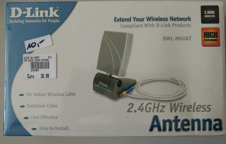 D-Link DWL-M60AT 2,4 GHz Wireless Antenna