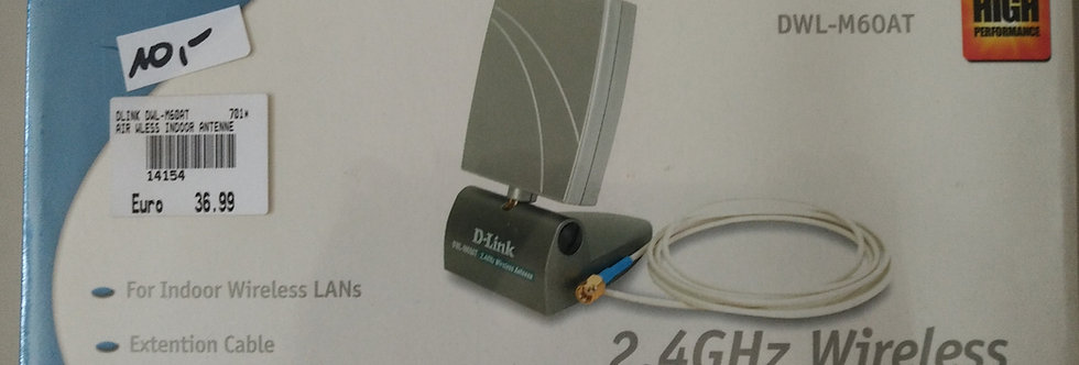 D-Link DWL-M60AT 2,4 GHz Wireless Antenna