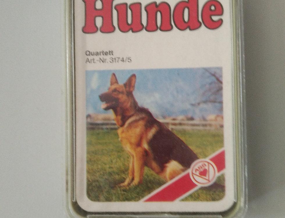Quartett Hunde, ASS, 32 Karten, unbespielt