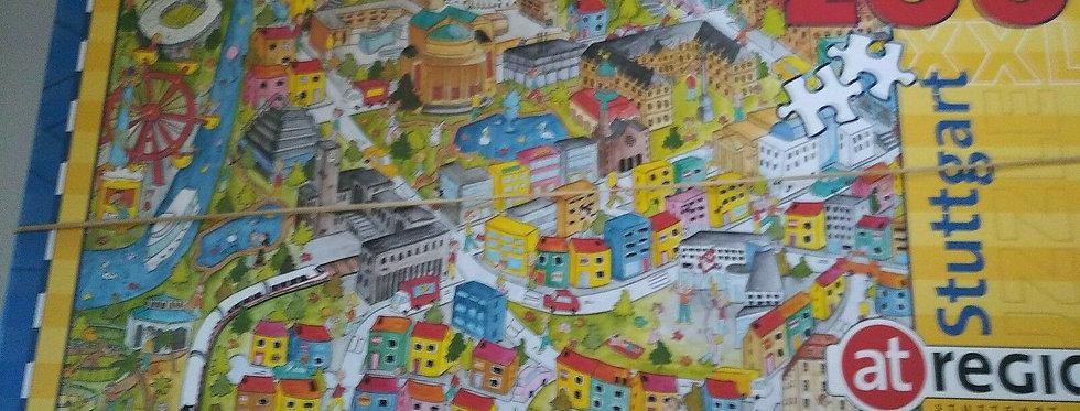 Puzzle Stuttgart 200 Teile