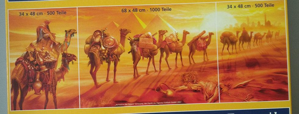 Puzzle Wüstenlandschaft 2000 Teile