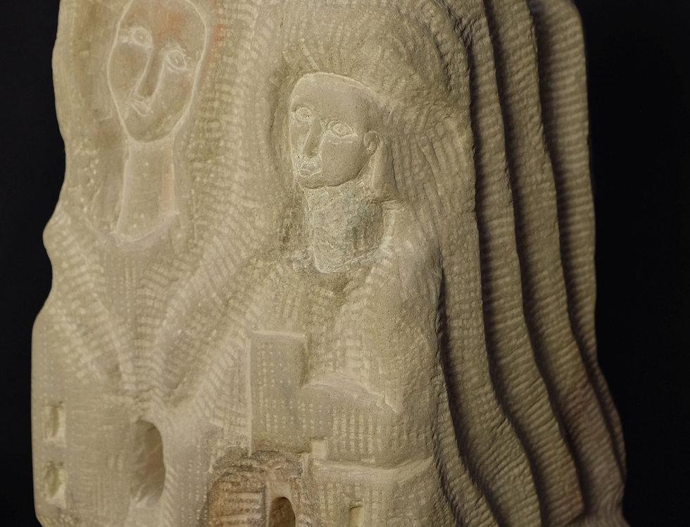 Mario Arcelan: abstrakt byzantin