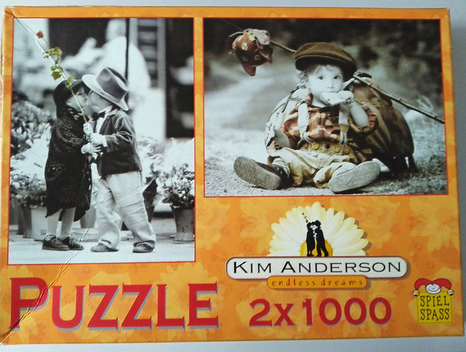 Puzzle 2*1000 Teile, Kim Anderson, Endless Dreams