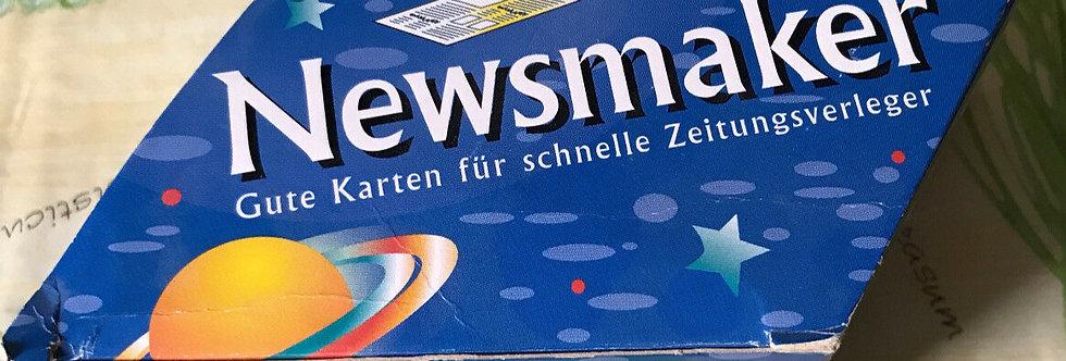 Newsmaker Kartenspiel um die Zeitung NEU Rosengarten Spiele 1996