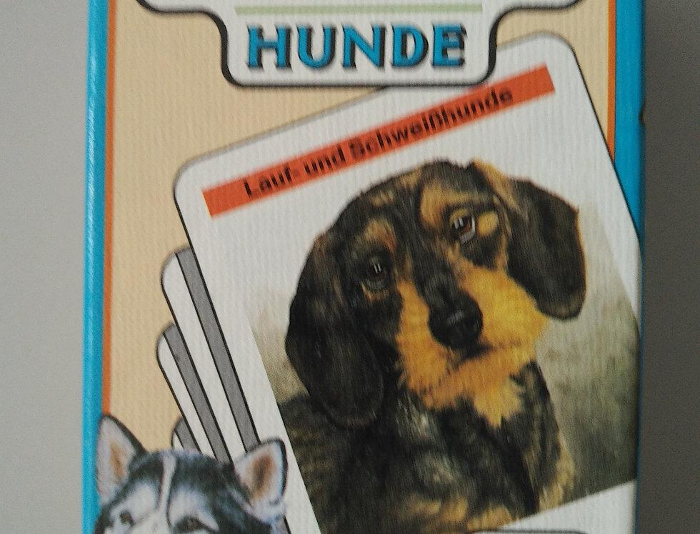 Quartett Hunde, Jumbo, 32 Karten, unbespielt