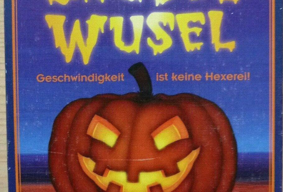 """GRUSEL-WUSEL - Wer behält die Übersicht bei 8 """"Kürbis""""-Würfel & 60 Spielkarten"""