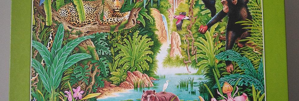 Puzzle Dschungelleben 1000 Teile