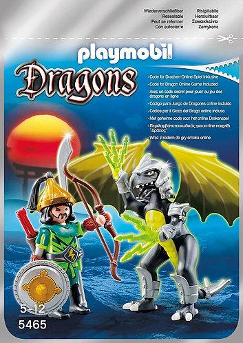 Playmobil 5465 - Storm Dragon mit Kämpfer - neu