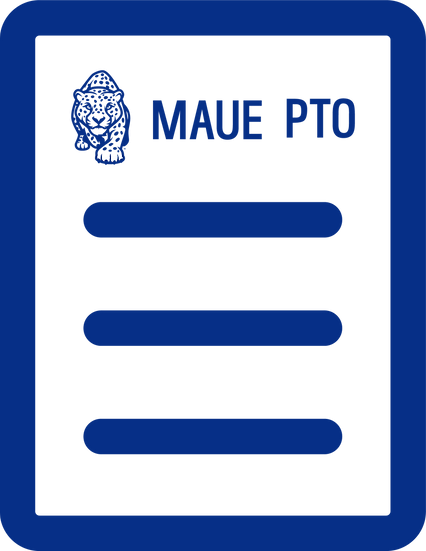 MAUE PTO Registration Blue Level Membership