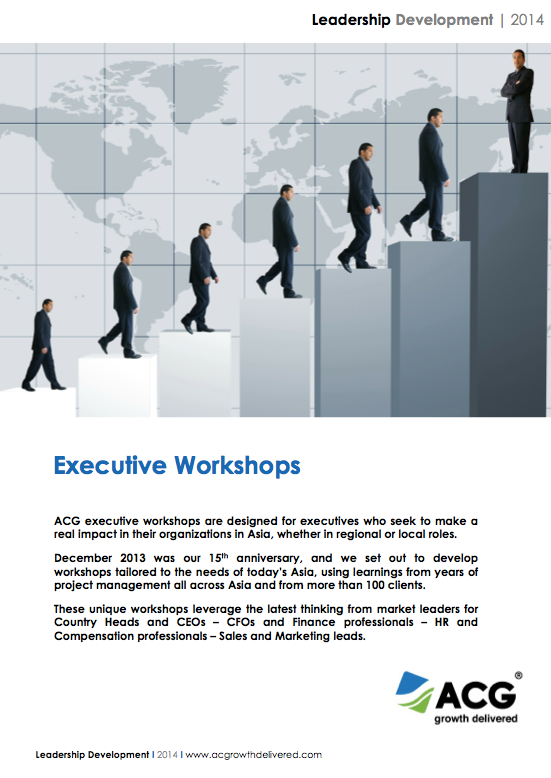 Executive Workshops