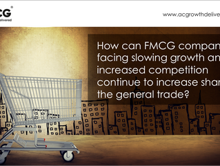 FMCG in Asia - beat slowing growth