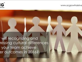 APAC Agenda 2016 - Build Cultural Awareness