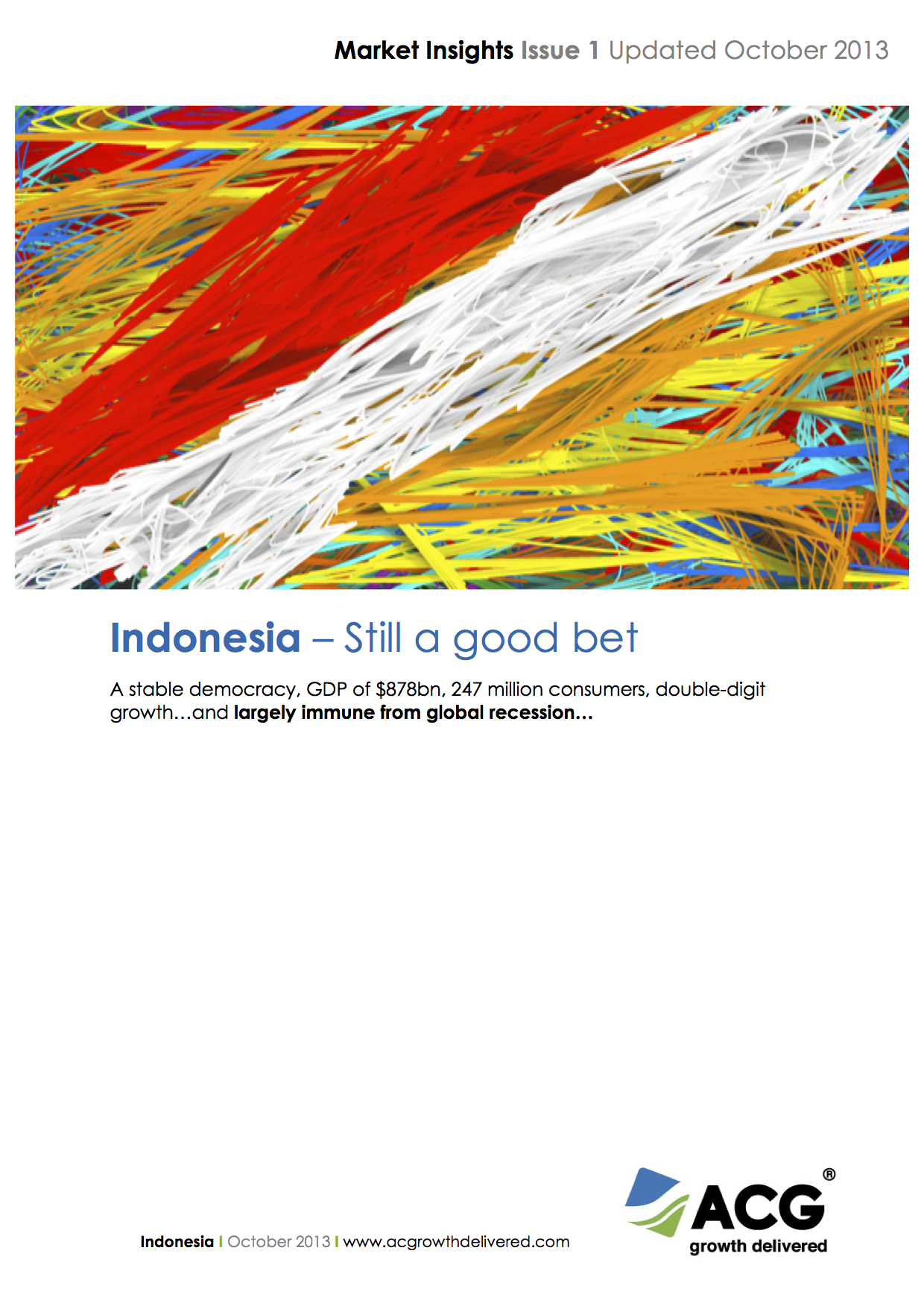 Indonesia - Still a good bet